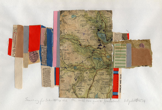 Islwyn Watkins - Searching for Schwitters No.2: The wall has gone to Geordieland - 2004